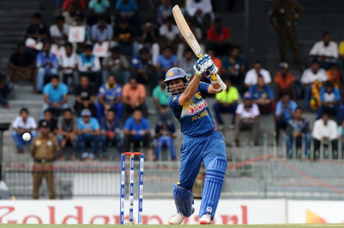 Dilshan scored a valiant 50