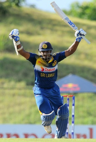 Perera was named Man of the Match for his career-best knock of 116