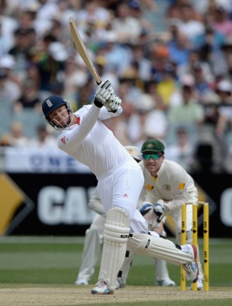 Bairstow's last Test for England came against Australia in January 2014
