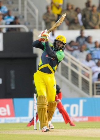 Gayle scored 430 runs at an average of 61.42 in this year's CPL