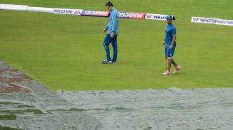 No play was possible for the third successive day