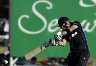 Guptill scored his ninth ODI century