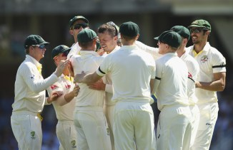 Australia only need four wickets to win