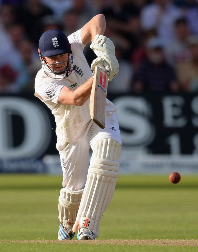Bairstow hit 12 boundaries during his innings of 74