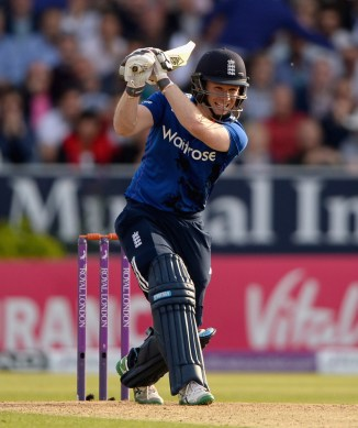 Morgan was named Man of the Match for his game-winning knock of 92