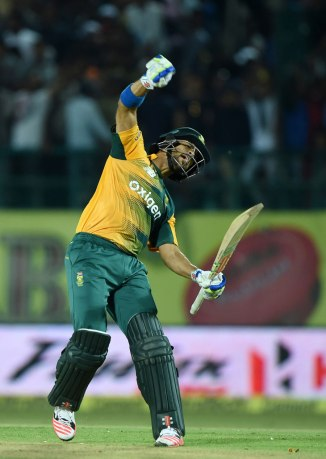 Duminy is over the moon after leading South Africa to victory