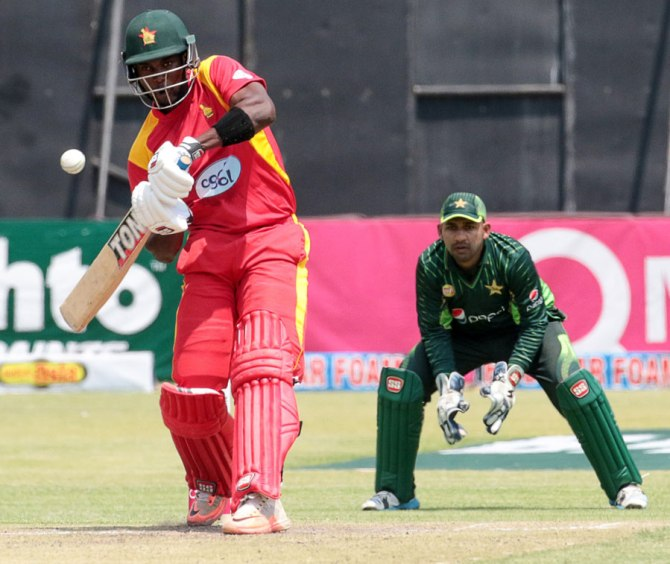 Chigumbura was named Man of the Match for his all-round performance