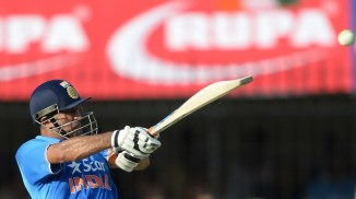 Dhoni was named Man of the Match for his superb knock of 92 not out