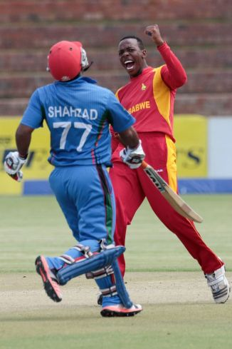 Masakadza was named Man of the Match for his bowling figures of 4-21 off 6.1 overs