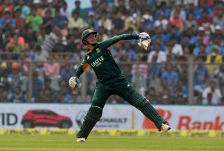De Kock was named Man of the Match for his superb innings of 109