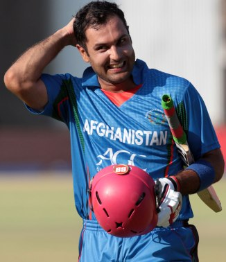 Nabi is all smiles after leading Afghanistan to victory