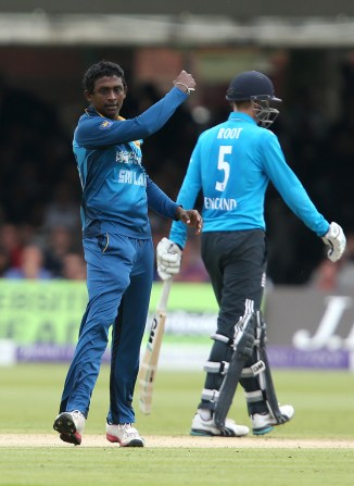 Mendis' last ODI for Sri Lanka came against England in December 2014