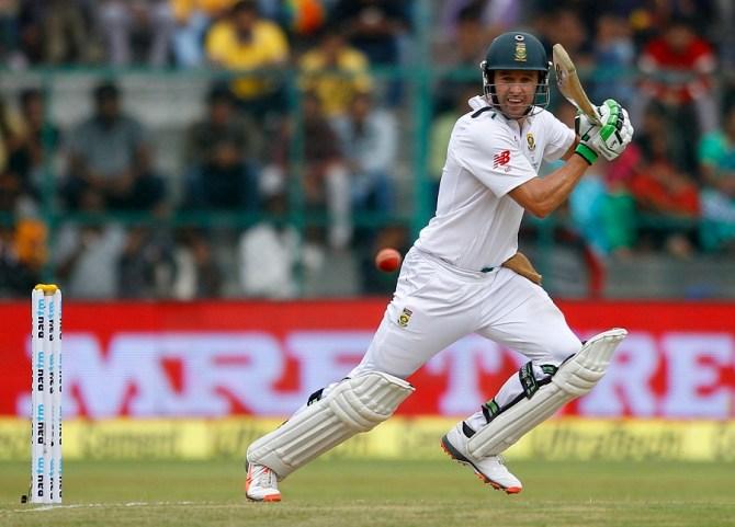 De Villiers made a gutsy 85