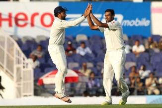 Ashwin picked up six wickets in total on the second day