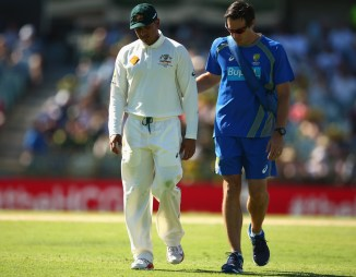 Khawaja is expected to return during the Boxing Day Test against the West Indies