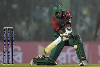 Rahman struck four boundaries and a six during his knock of 46