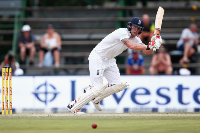 Stokes struck nine boundaries and a six during his knock of 58