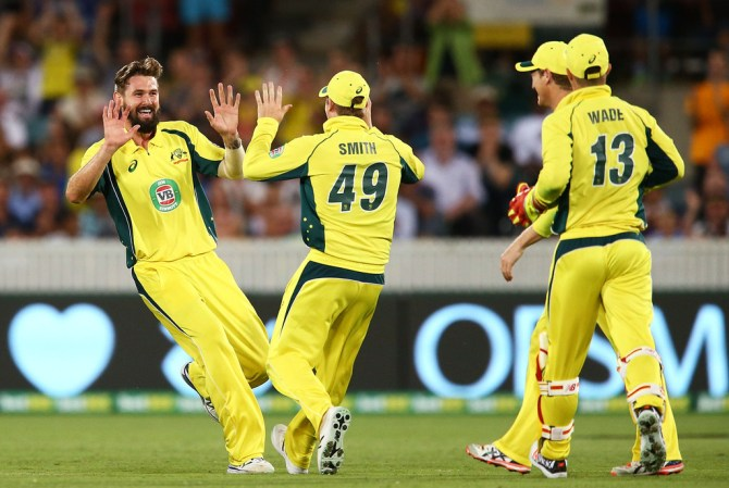 Richardson finished with career-best figures of 5-68 off his 10 overs