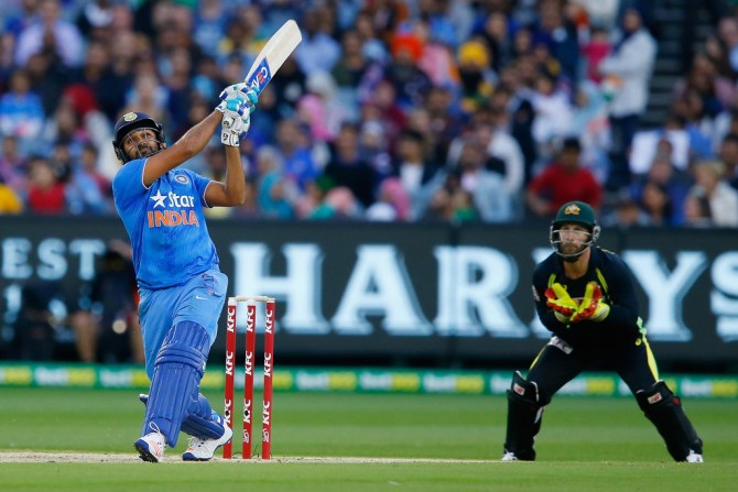 Sharma's excellent form with the bat continued