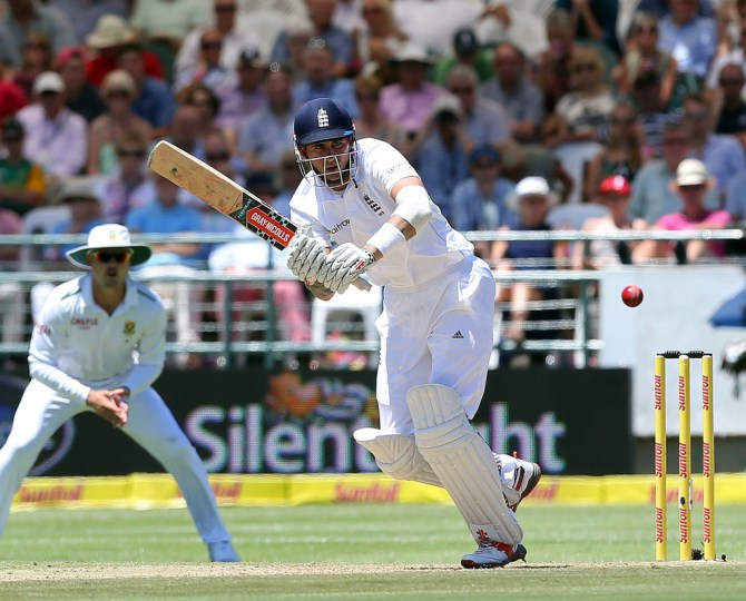 Hales scored his maiden Test fifty