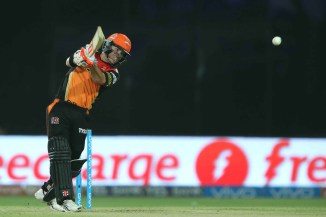Warner struck 11 boundaries and three sixes during his unbeaten knock of 93