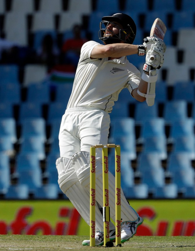 Williamson was New Zealand's top-scorer with 77 runs