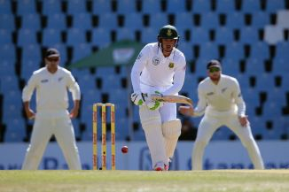 De Kock scored his second fifty in the match