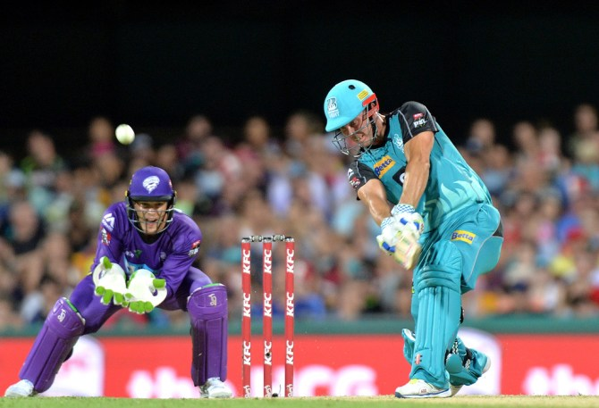Lynn was named Man of the Match for his game-winning knock of 84 not out