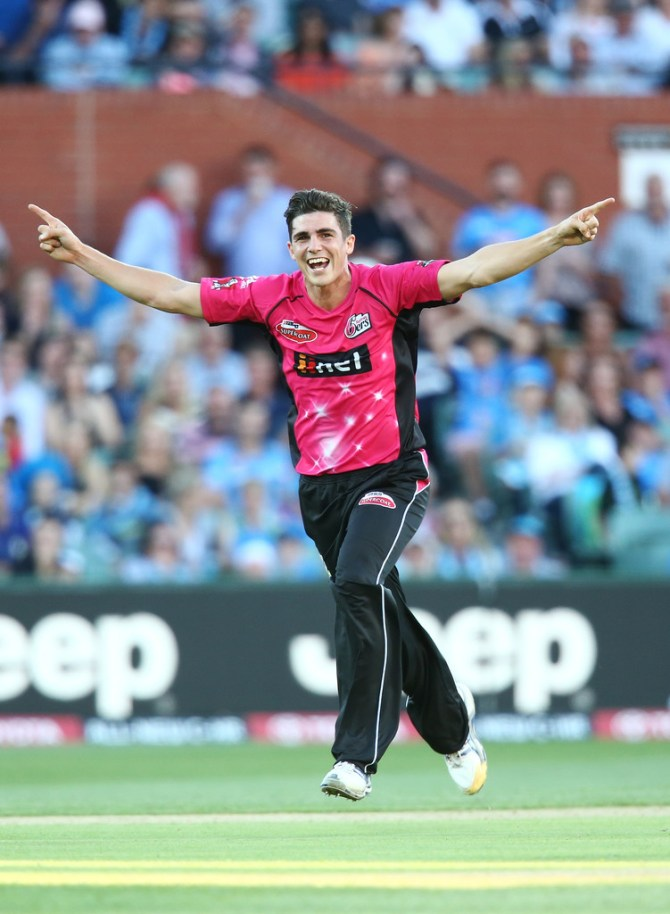 Abbott finished with figures of 5-16 off four overs in his side's loss