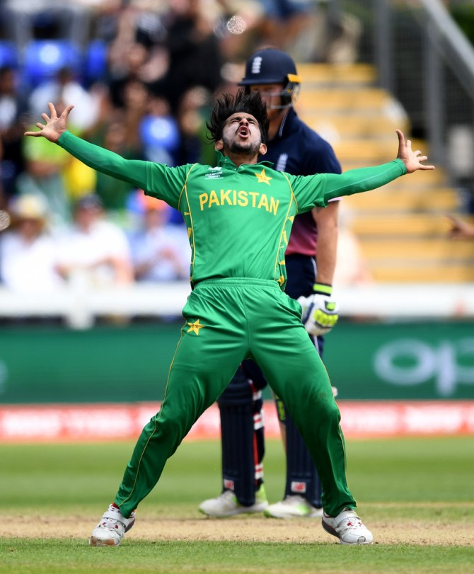 Pakistan seamer Hasan Ali said people should stop defining him by his Champions Trophy performance