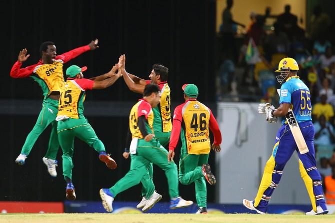 Sohail Tanvir five wickets Guyana Amazon Warriors CPL cricket