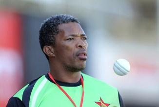 Makhaya Ntini Zimbabwe cricket