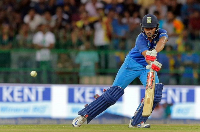 Manish Pandey fifty India Sri Lanka cricket