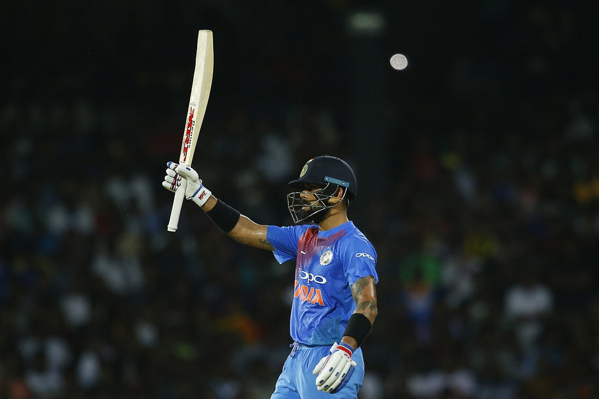 Watch Virat Kohli batting left-handed in Sri Lanka ahead of T20I