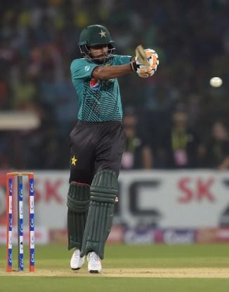 Babar Azam fifty Pakistan World XI cricket