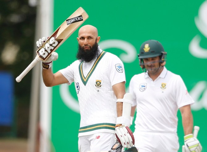 Hashim Amla century South Africa Bangladesh cricket