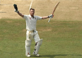 David Warner hundred Australia Bangladesh cricket