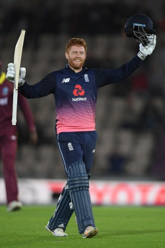 Jonny Bairstow century England West Indies cricket