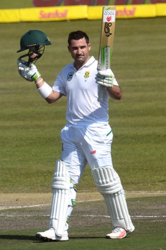 Dean Elgar hundred South Africa Bangladesh cricket