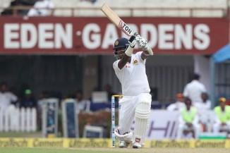 Angelo Mathews half-century Sri Lanka India cricket
