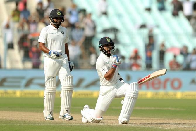 Virat Kohli century India Sri Lanka cricket
