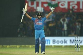 Rohit Sharma hundred India Sri Lanka cricket