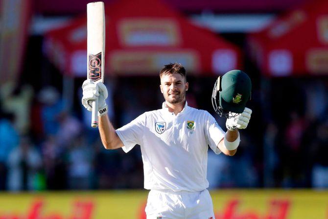 Aiden Markram century South Africa Zimbabwe cricket
