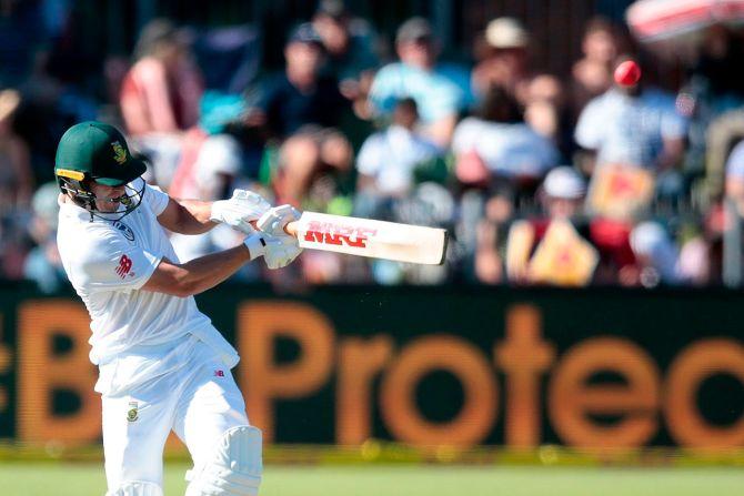 AB de Villiers half-century South Africa Zimbabwe cricket