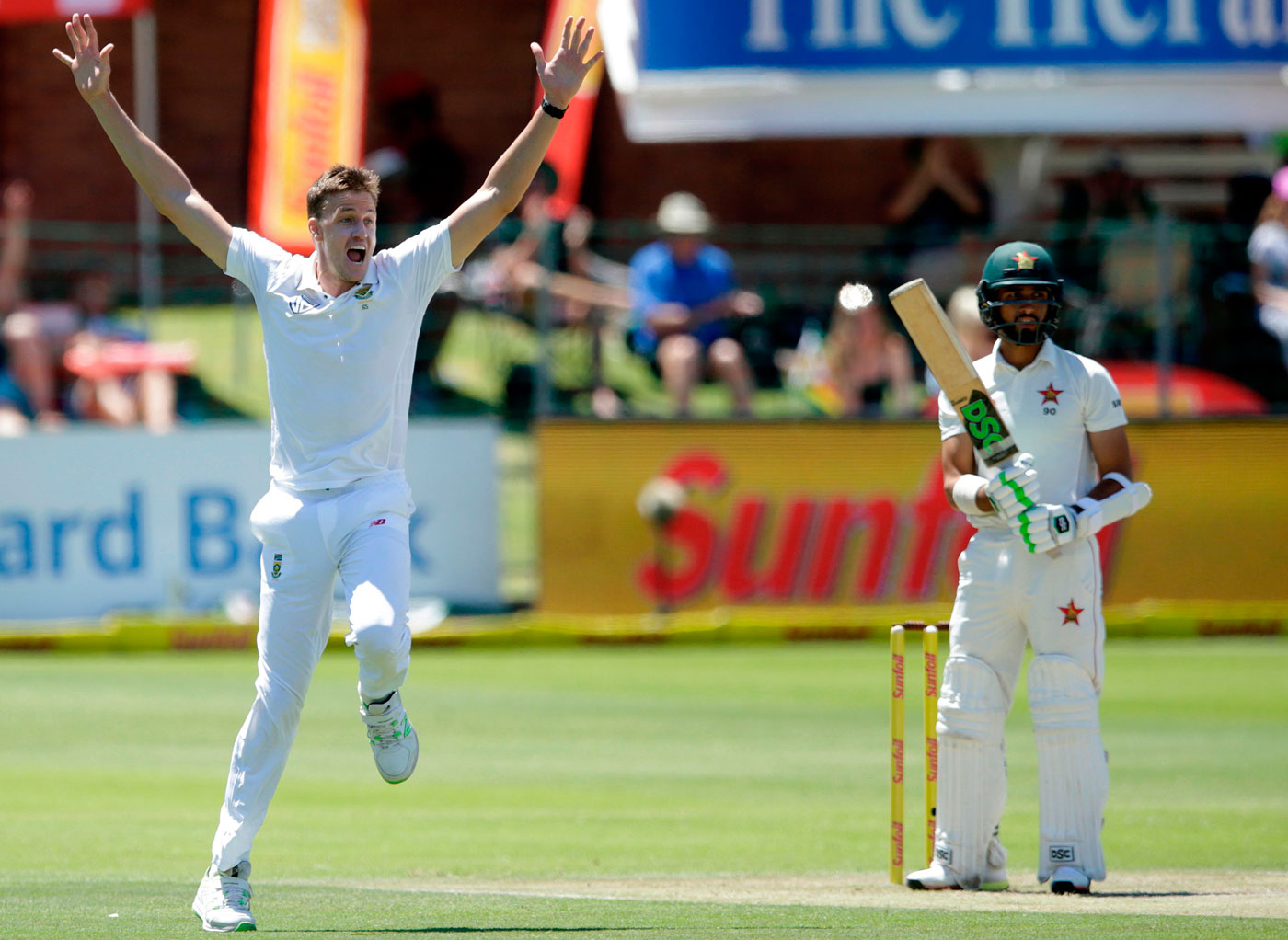 Morris in S.Africa squad for 1st Test against India