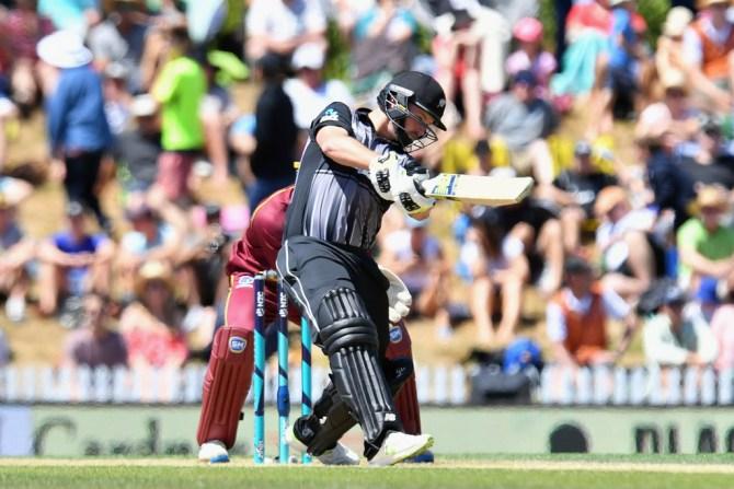Colin Munro half-century New Zealand West Indies cricket