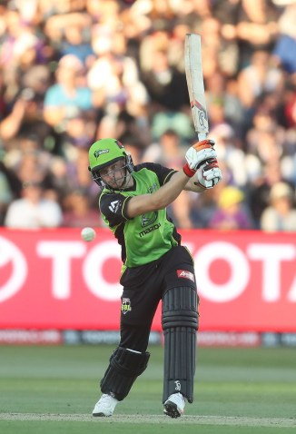 Jos Buttler 67 Sydney Thunder Hobart Hurricanes BBL cricket