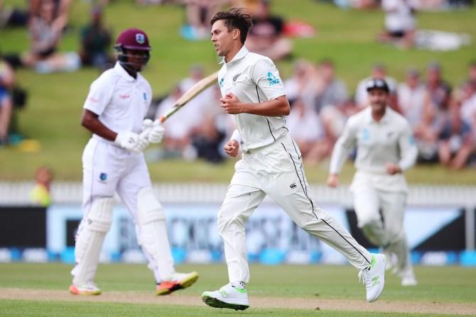 Trent Boult New Zealand West Indies cricket