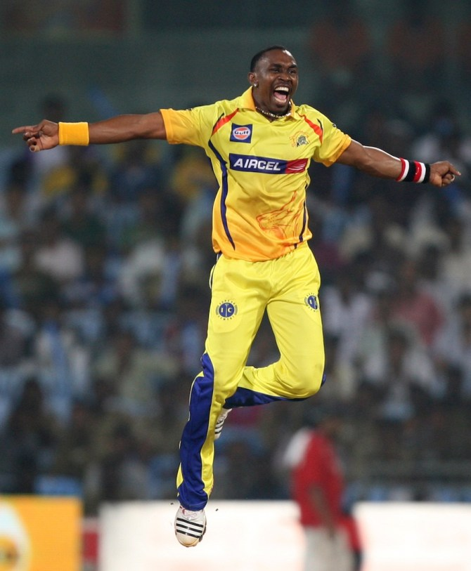 Dwayne Bravo Chennai Super Kings Indian Premier League IPL cricket