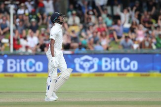 Ian Chappell angry Hardik Pandya run out India South Africa Test series cricket